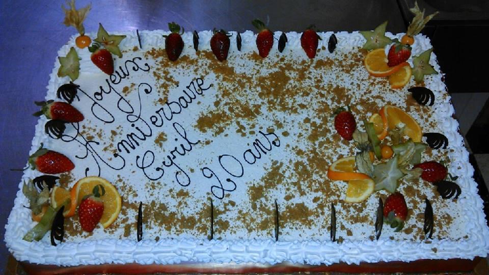 Un autre Gâteau d'anniversaire